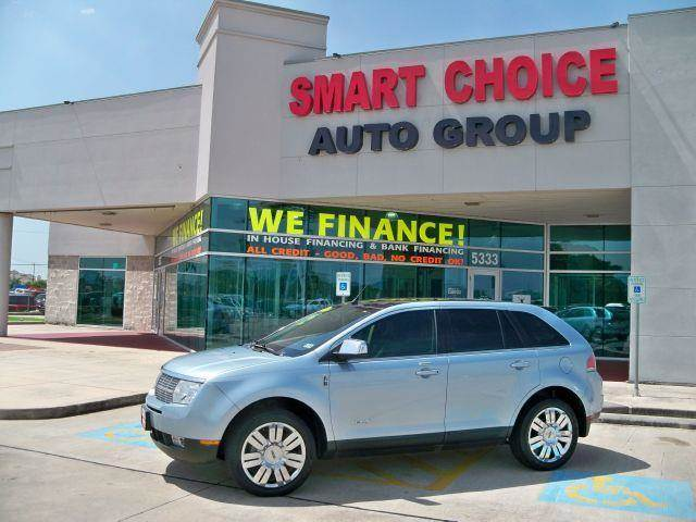2008 LINCOLN MKX FWD blue options abs brakesair conditioningalloy wheelsamfm radioautomatic hea