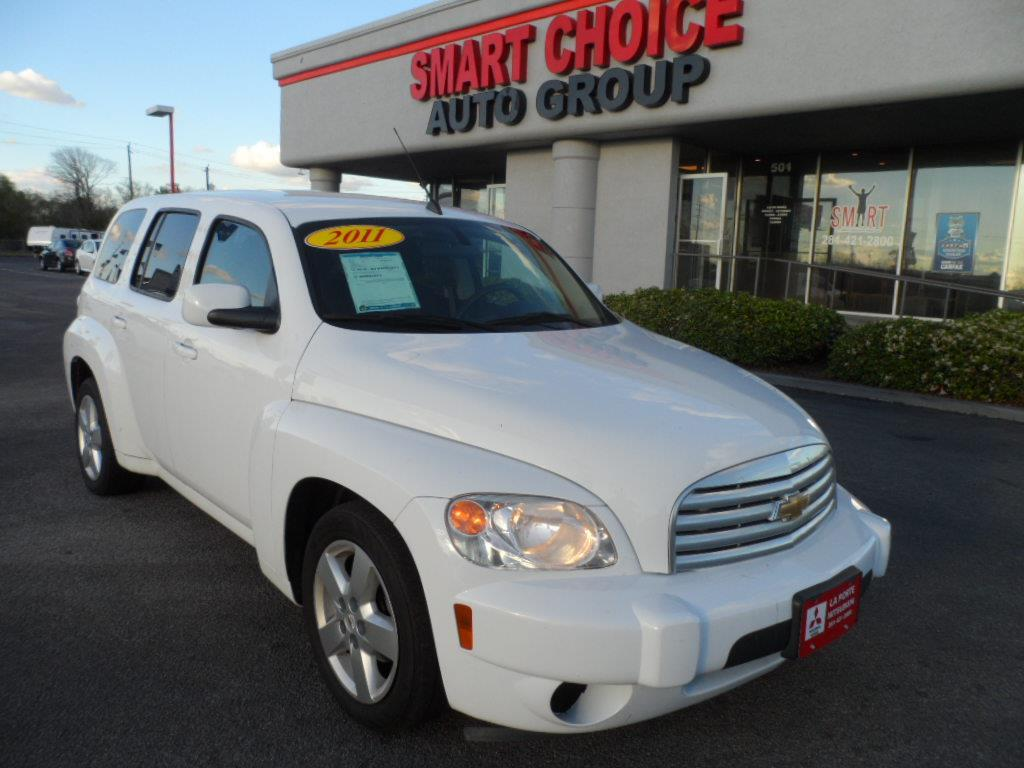 2011 CHEVROLET HHR LT 4DR WAGON W1LT white new vehicle warrantymitsubishi confidence10-year1000