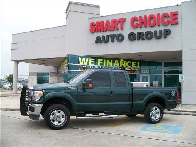 2011 FORD F-250 SUPER DUTY green 89001 miles VIN 1FT7X2B69BEC58580