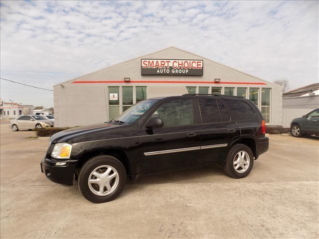 2008 GMC ENVOY SLE-1 2WD black abs brakesair conditioningalloy wheelsamfm radioautomatic hea