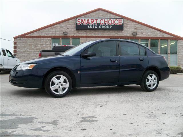 2007 SATURN ION 2 4DR SEDAN blue decklid spoiler front license plate mounting package air condi