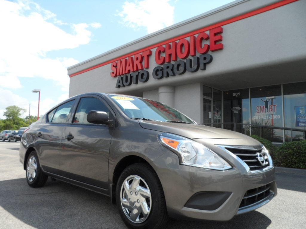 2015 NISSAN VERSA 16 S brilliant silver laporte mitsubishi w in-house advantage also can put a