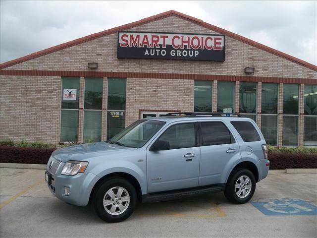 2008 MERCURY MARINER V6 4DR SUV blue abs brakesair conditioningalloy wheelsamfm radiocargo a