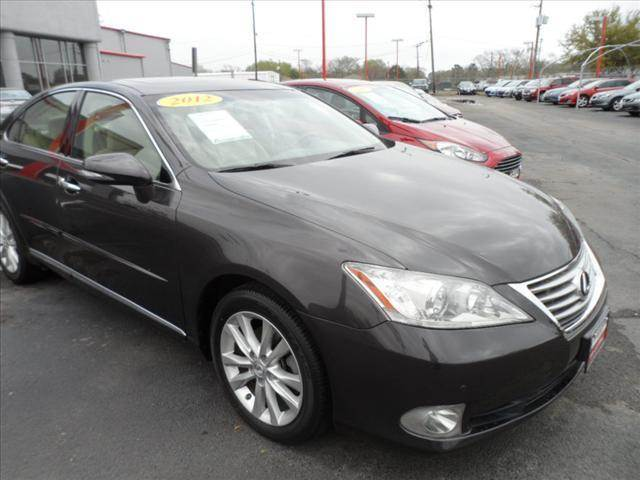 2012 LEXUS ES 350 BASE 4DR SEDAN gray april showers bring may flowers right now with 350 down w