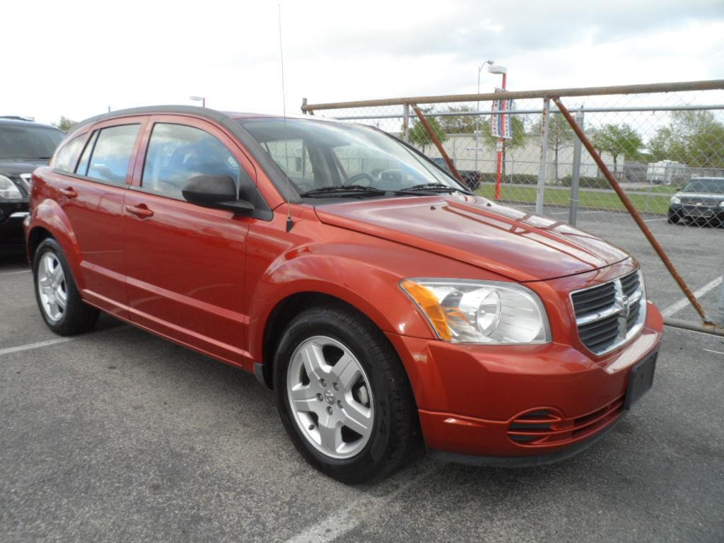 2009 DODGE CALIBER SXT 4DR WAGON ornage thank you very much for the opportunity to earn your busi