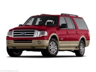 2007 FORD EXPEDITION EL EDDIE BAUER 4X2 4DR SUV maroon laporte mitsubishi w in-house advantage al