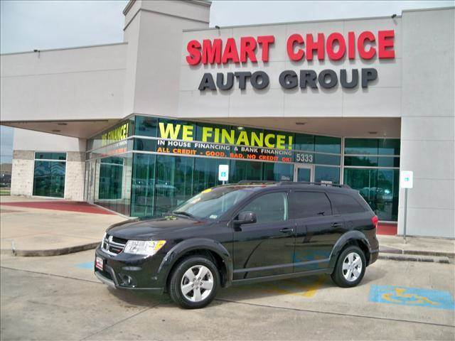 2012 DODGE JOURNEY FWD SXT brilliant black crystal pearl options abs brakesair conditioningalloy