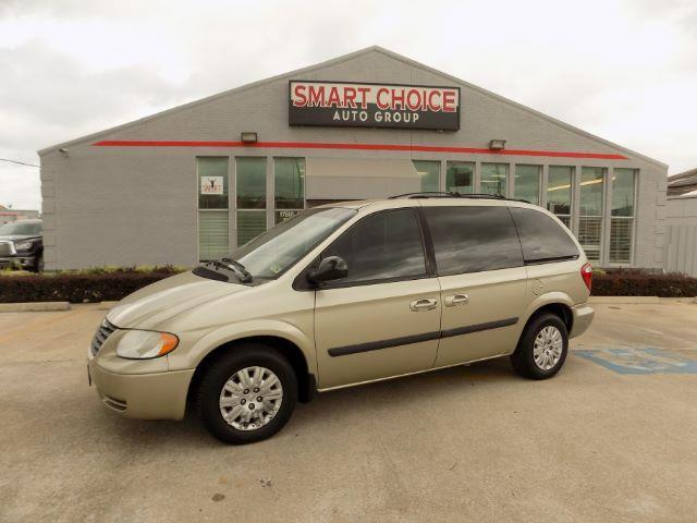 2007 CHRYSLER TOWN AND COUNTRY BASE 4DR MINI VAN tan air conditioningamfm radioautomatic headl