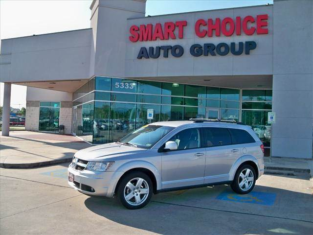 2010 DODGE JOURNEY AWD SXT silver options 4wdawdabs brakesair conditioningalloy wheelsamfm rad