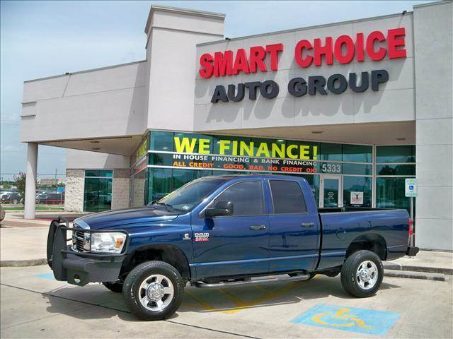 2008 DODGE RAM PICKUP 2500 4WD QUAD CAB blue options 4wdawdabs brakesair conditioningalloy whee