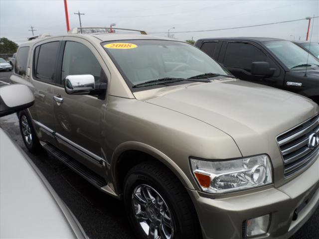 2004 INFINITI QX56 BASE 4WD 4DR SUV brown pushpullordrag --independence freedom sale--  dec