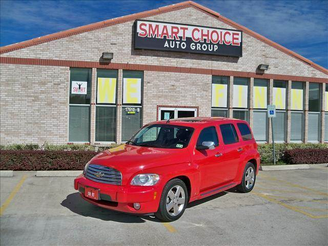 2008 CHEVROLET HHR FWD LT red options abs brakesair conditioningalloy wheelsamfm radioautomatic