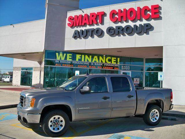 2009 GMC SIERRA 1500 2WD CREW CAB 1435 grey options abs brakesair conditioningamfm radioautoma