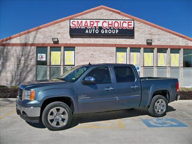 2011 GMC SIERRA 1500 SLE blue abs brakesair conditioningamfm radioautomatic headlightscd pla