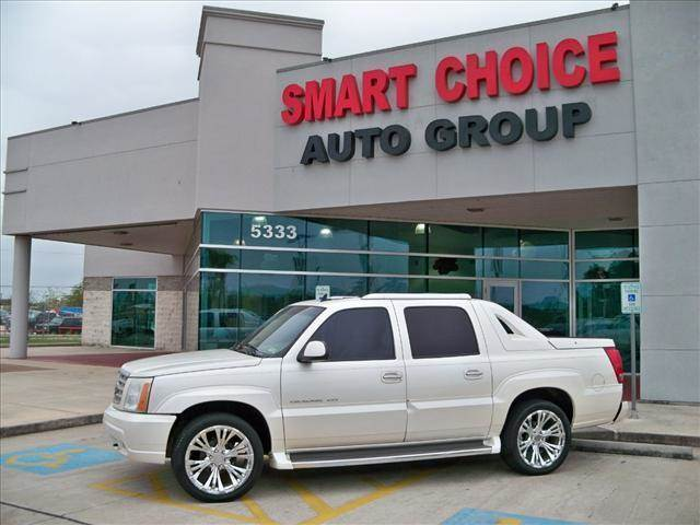 2006 CADILLAC ESCALADE EXT AWD white diamond options 4wdawdabs brakesadjustable foot pedalsair