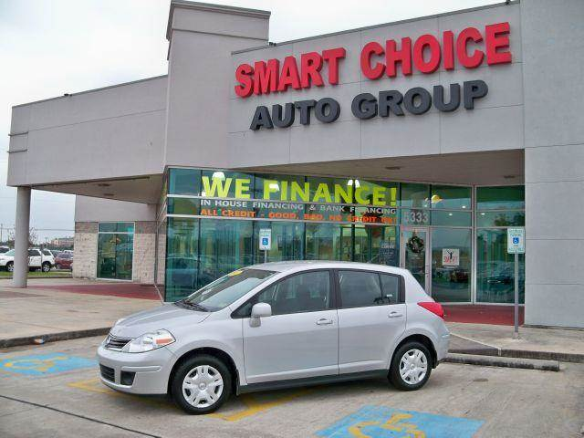 2012 NISSAN VERSA HATCHBACK 18 brilliant silver metallic options abs brakesair conditioningallo
