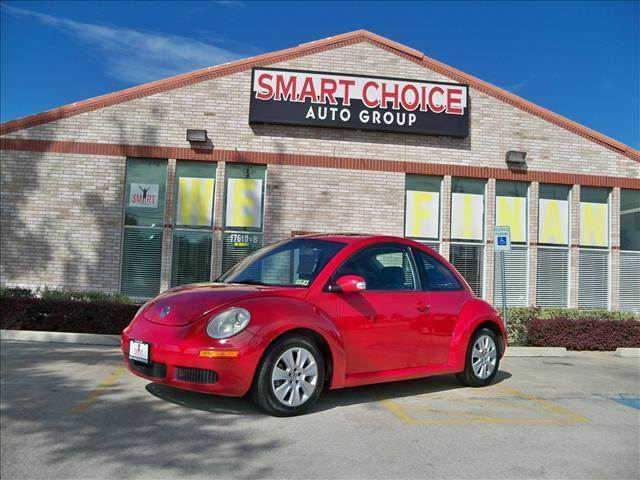 2008 VOLKSWAGEN BEETLE S salsa red options abs brakesair conditioningalloy wheelsamfm radiocarg