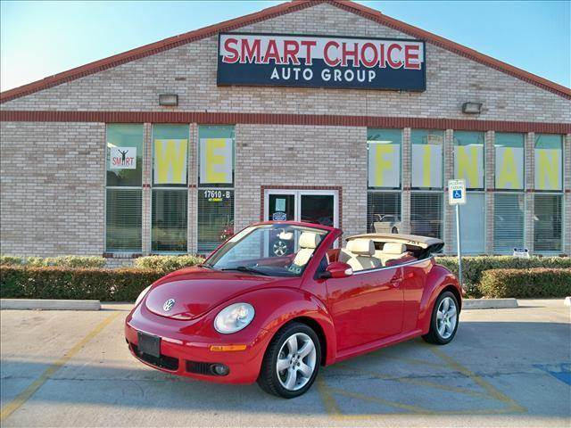2007 VOLKSWAGEN BEETLE 25L CONVERTIBLE salsa red options abs brakesair conditioningalloy wheels