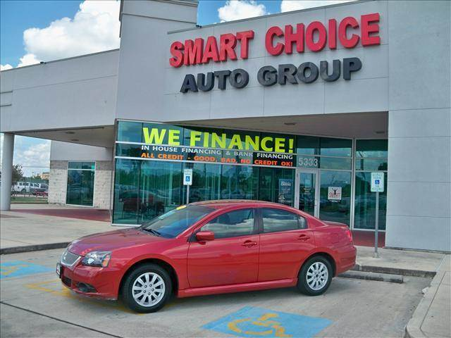 2010 MITSUBISHI GALANT SEDAN FE red options 4-speed at 24l 4 cylinder engine front wheel dri