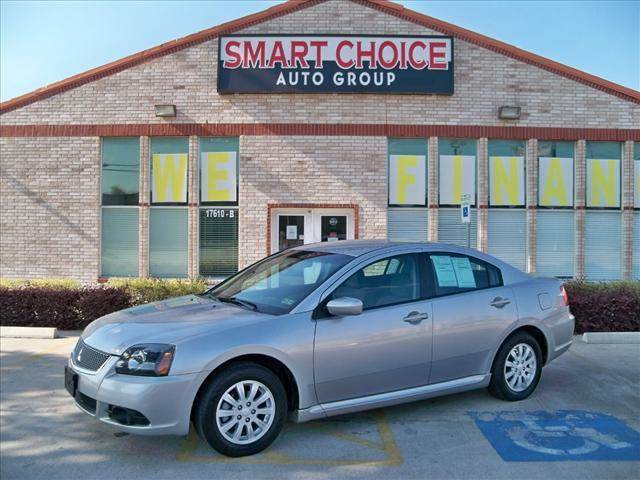 2010 MITSUBISHI GALANT SEDAN FE silver options 4-speed at 24l 4 cylinder engine front wheel