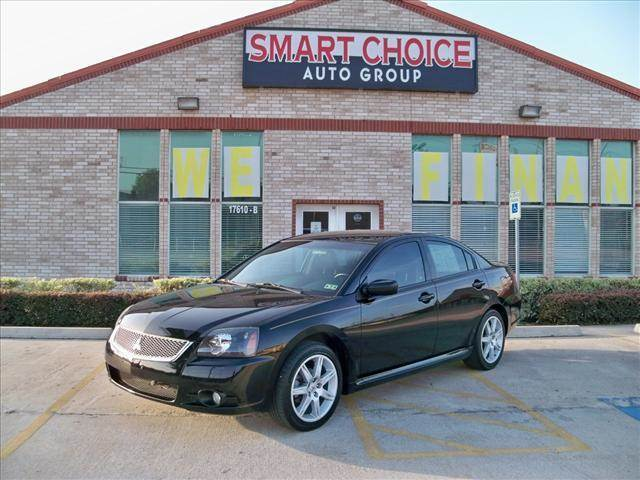 2010 MITSUBISHI GALANT SEDAN SE black options abs brakesair conditioningalloy wheelsamfm radioa