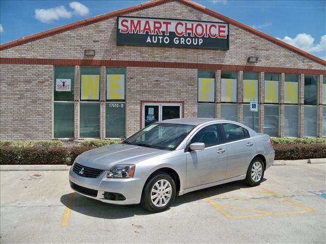2009 MITSUBISHI GALANT SEDAN ES silver options air conditioningamfm radioautomatic headlightscd