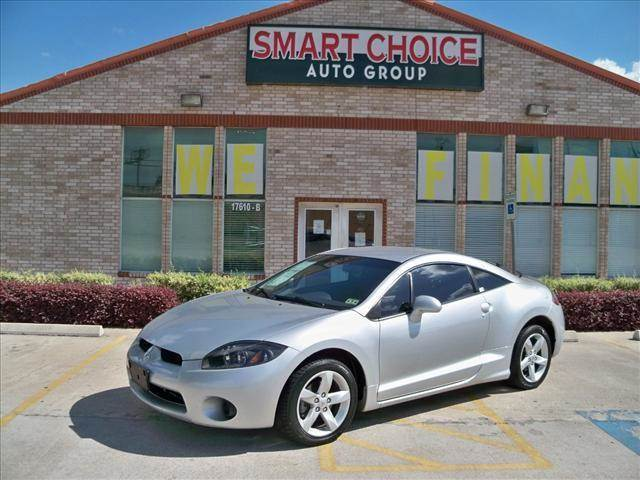 2007 MITSUBISHI ECLIPSE COUPE GS liquid silver metallic options abs brakesair conditioningalloy