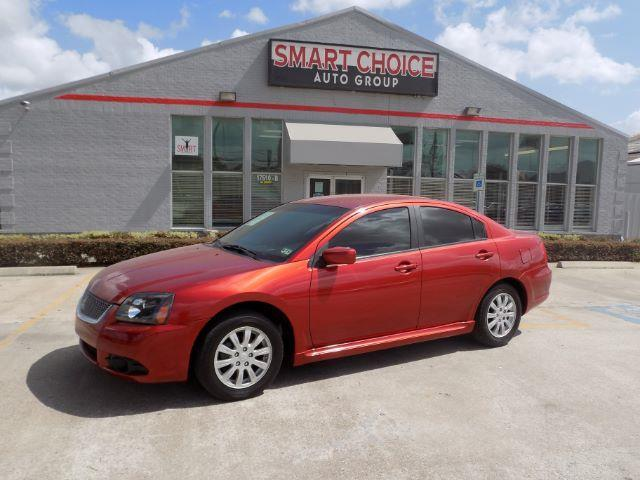 2010 MITSUBISHI GALANT FE 4DR SEDAN red headlight bezel color - blackdoor handle color - body-co