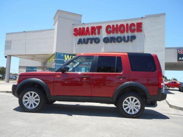 2007 LAND ROVER LR3 V8 SE 4DR SUV 4WD red ba10020 2007 land rover lr3se v8 red salae25407a418293