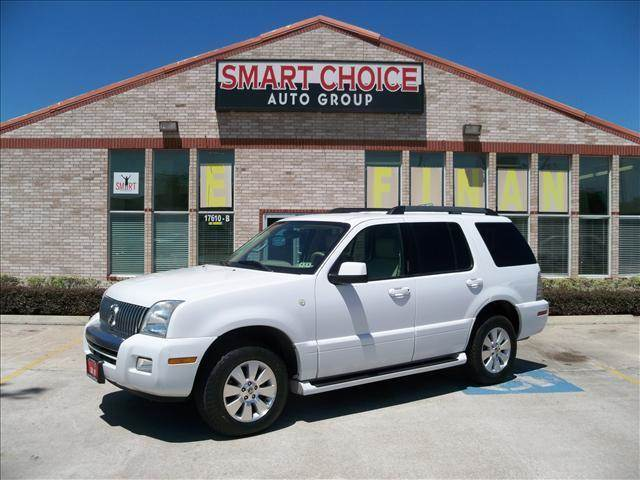 2006 MERCURY MOUNTAINEER LUXURY AWD 4DR SUV white running boards floor mat material - carpet fl