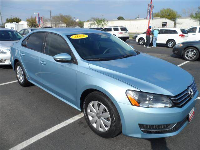 2012 VOLKSWAGEN PASSAT blue thank you very much for the opportunity to earn your business  smart