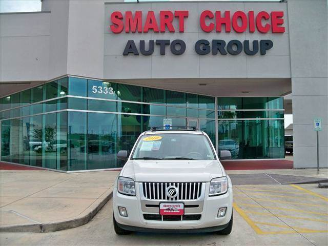 2010 MERCURY MARINER FWD white suede options abs brakesair conditioningalloy wheelsamfm radioca