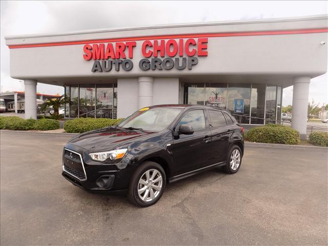 2013 MITSUBISHI OUTLANDER SPORT ES 2WD black abs brakesair conditioningalloy wheelsautomatic h