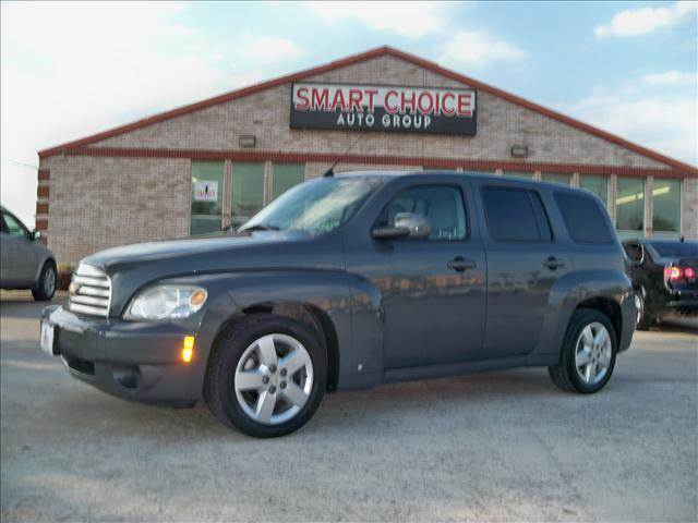 2009 CHEVROLET HHR LT 4DR WAGON grey black chrome package blue flash metallic bright chrome app