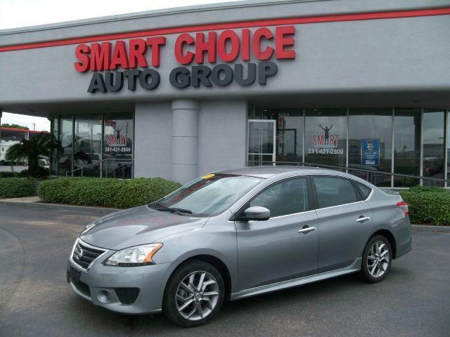 2013 NISSAN SENTRA grey laporte mitsubishi  w in-house  advantage also can put a positive mark o