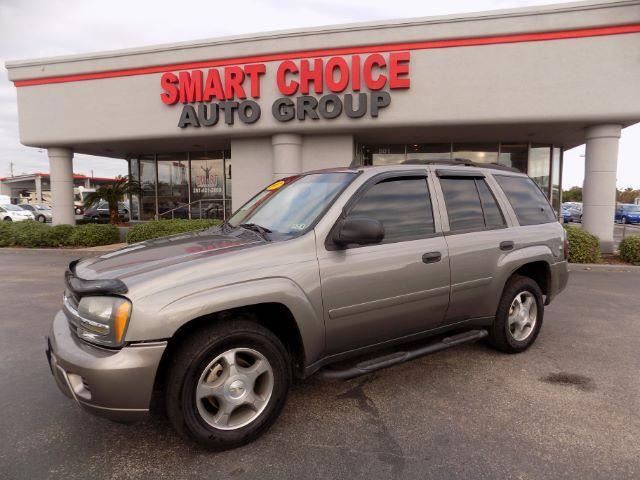 2007 CHEVROLET TRAILBLAZER LS1 2WD gray abs brakesair conditioningalloy wheelsamfm radioauto