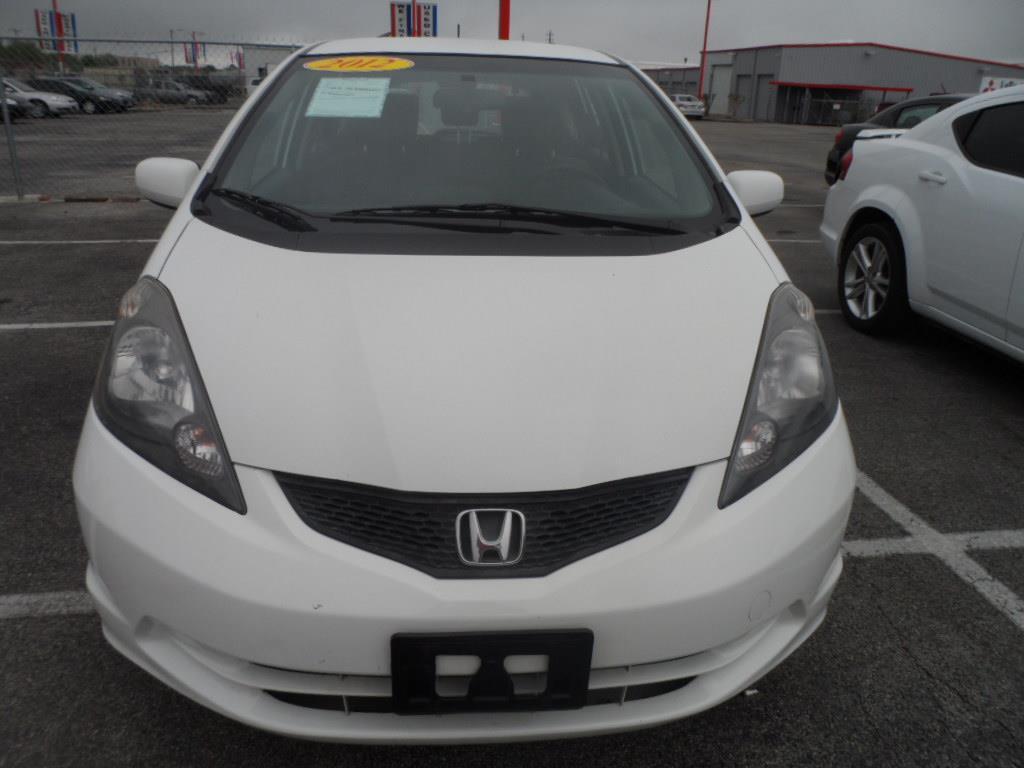 2012 HONDA FIT BASE 4DR HATCHBACK 5A taffeta white new vehicle warrantymitsubishi confidence10-yea