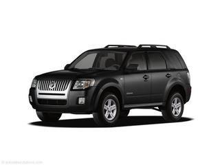 2008 MERCURY MARINER HYBRID BASE 4DR SUV black laporte mitsubishi w in-house advantage also can