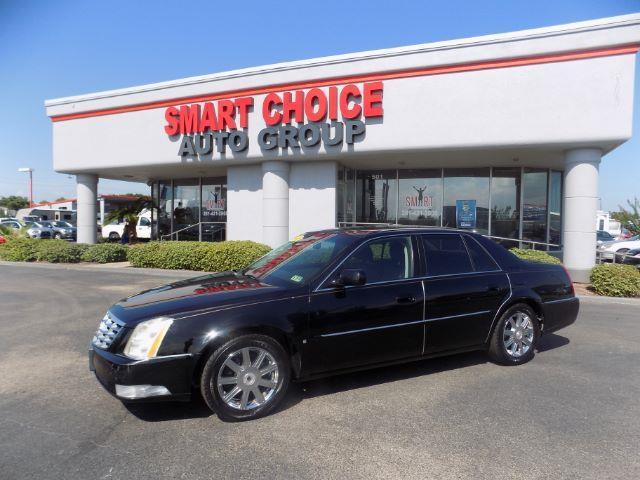 2008 CADILLAC DTS LUXURY I 4DR SEDAN black abs brakesair conditioningalloy wheelsamfm radioa