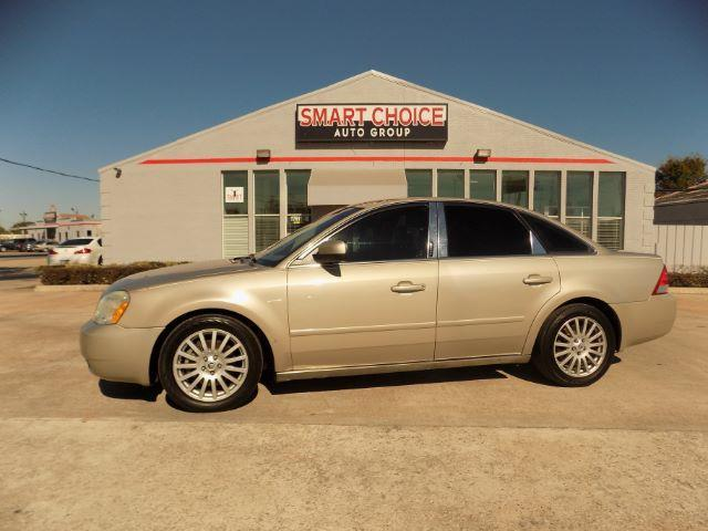 2005 MERCURY MONTEGO PREMIER 4DR SEDAN tan front air conditioning - automatic climate controlfro
