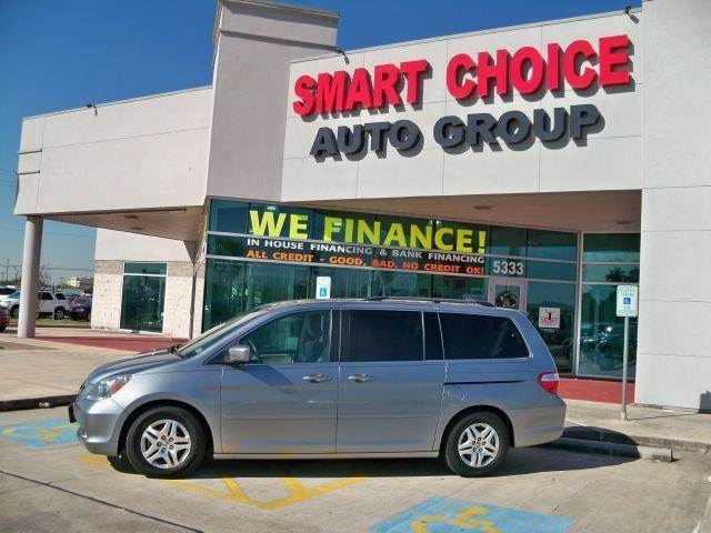2006 HONDA ODYSSEY EX midnight blue pearl options abs brakesair conditioningalloy wheelsamfm ra