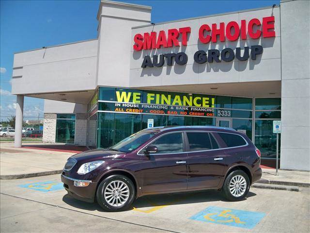 2009 BUICK ENCLAVE CXL ALL-WHEEL DRIVE burgandy options abs brakesair conditioningalloy wheelsam