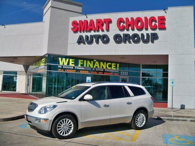 2012 BUICK ENCLAVE LEATHER FWD white options abs brakesair conditioningalloy wheelsamfm radioau