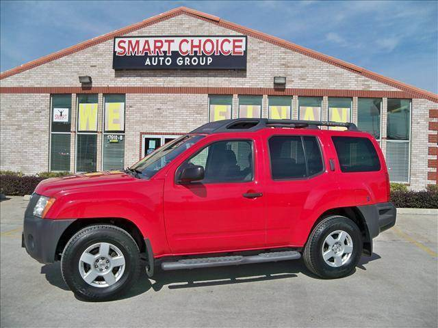 2008 NISSAN XTERRA S SE X OFF-ROAD red abs brakesair conditioningalloy wheelsamfm radioca