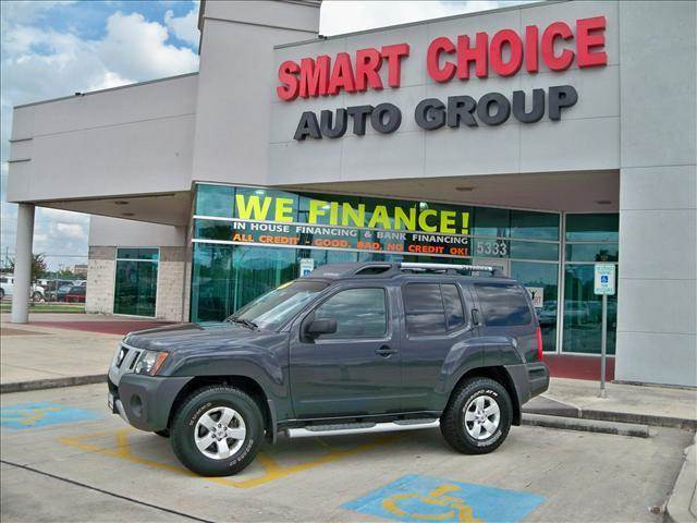 2009 NISSAN XTERRA 4WD grey options 4wdawdabs brakesair conditioningalloy wheelsamfm radiocarg