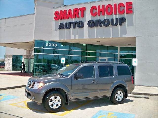 2006 NISSAN PATHFINDER 2WD grey options abs brakesadjustable foot pedalsair conditioningalloy wh