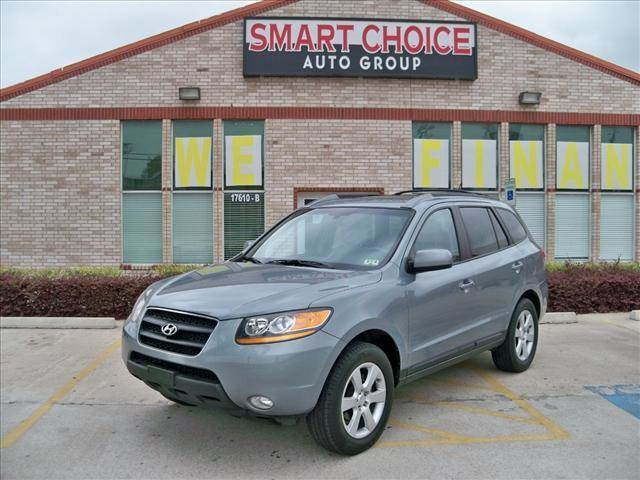 2009 HYUNDAI SANTA FE FWD AUTOMATIC SE grey options abs brakesair conditioningalloy wheelsamfm