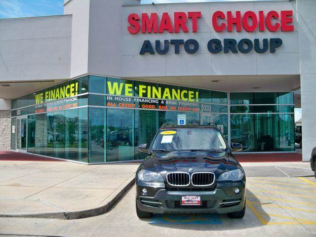 2007 BMW X5 AWD SUV black options 4wdawdabs brakesair conditioningalloy wheelsamfm radioautoma