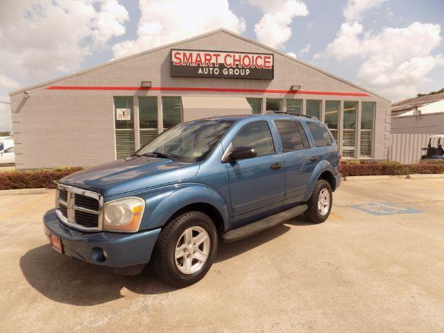 2004 DODGE DURANGO SLT 4WD 4DR SUV atlantic blue pearlc front air conditioningrear air condition