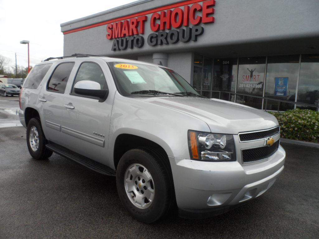 2013 CHEVROLET TAHOE LT 4X2 4DR SUV grey thank you very much for the opportunity to earn your busi